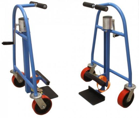 Movimentadores Elevador Porta-móveis Armários Carrinho c/ rodas 600kg