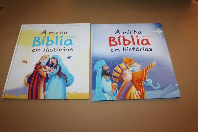 A minha Bíblia em Histórias // Renita Boyle-2 Vols