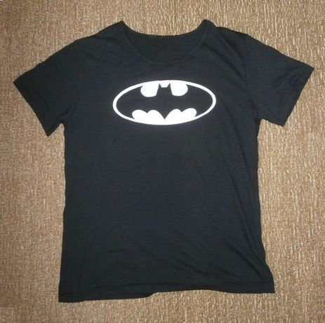 NOVO Camisa Sport T-Shirt ginásio Batman M