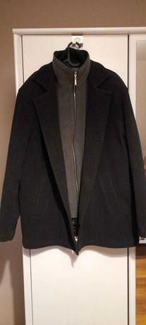 Płaszcz zimowy męski L