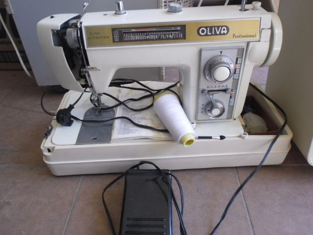 máquina de costura Oliva baixou só esta semana