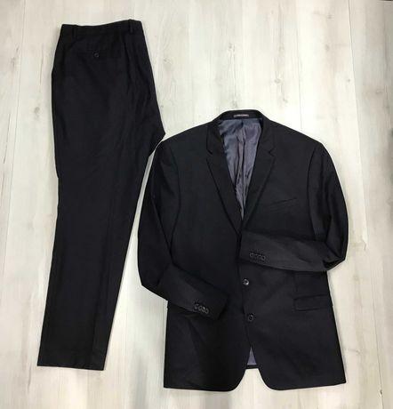 3XL Костюм шерстяной овечья шерсть wool классический пиджак брюки Next