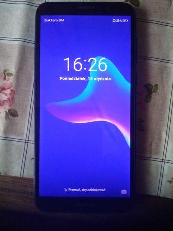 Huawei y6 2018 niebieski telefon sprawny