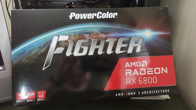 Placa gráfica PowerColor AMD Radeon RX 6800 Fighter 16GB