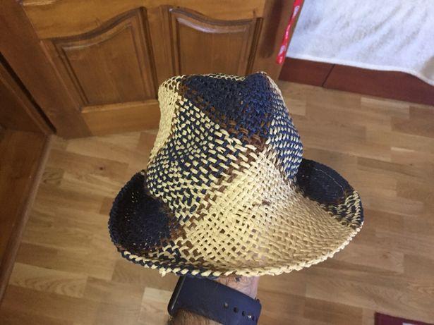 Детская летняя шляпа соломенная Zara
