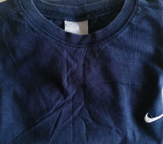 Nike Koszulka ROZMIAR 128-140 XS Męska Kolor Granatowy - SUPER