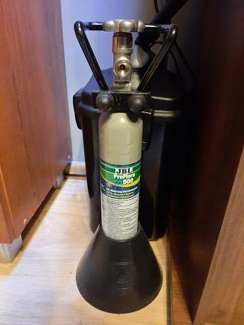 Butla JBL co2 0,5l ze stojakiem i rączka