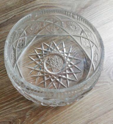 Misa owalna miska salaterka miseczka kryształ 15cm