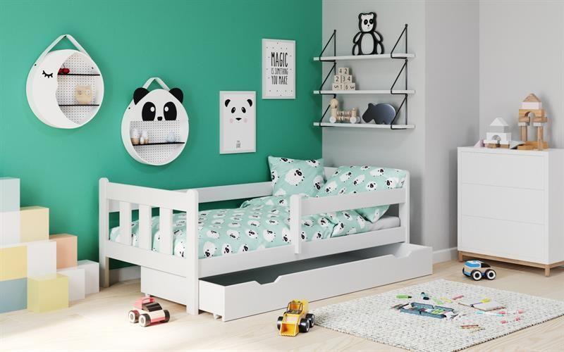 MARINELLA / łóżko z wysuwaną szufladą / BIAŁY