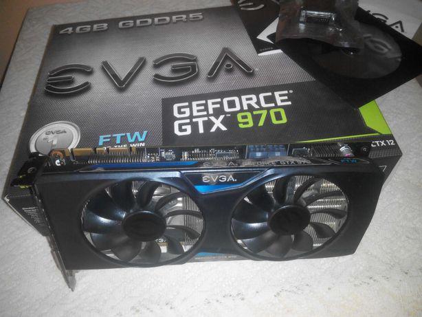 Видеокарта EVGA  GeForce GTX 970 FTW ACX 2.0 4GB GDDR5 (256bit)