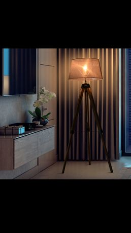 Lampa stojąca trójnóg