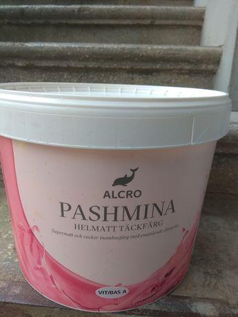 Краска для стен Alcro Pashmina