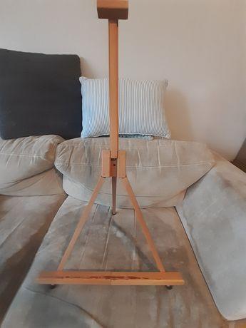 Zestaw dla malego artysty (stelaż, fartuch, farby akrylowe)