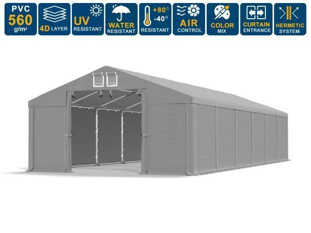 8x12x3m Namiot całoroczny magazynowy handlowy wiata garażowa