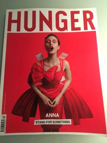 Hunger журнал мод Британия подарок стильной девушке подруге 8 Марта