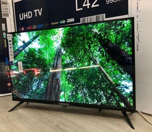 Телевизор Samsung 42 дюйма Android 9.0 Smart TV, Т2, FULL HD USB/HDMI