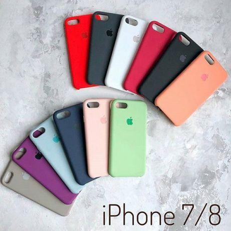 Apple Silicone Case іPhone - 5/5s 6/6s/6+/7/7+/8/8+/X Чехол на Айфон