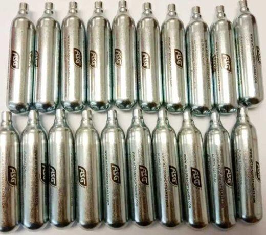 75 botijas CO2 para armas Desportivas Opção de envio à cobrança