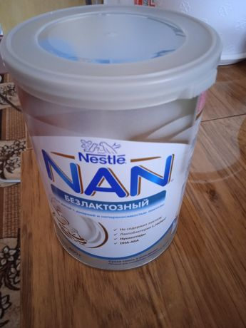 Сухая безлактозная смесь Nestle NAN с рождения, 400 г