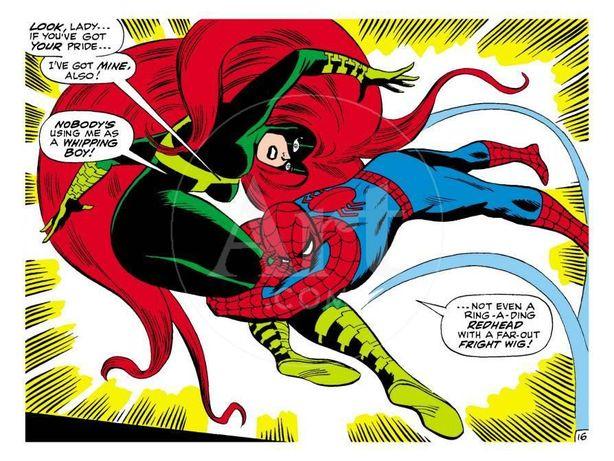 Poster Marvel Comics Retro