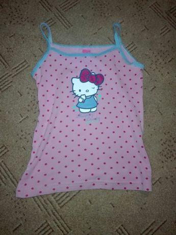 Koszulka na szelkach z Hello Kitty