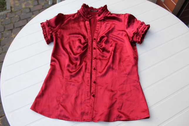 wiśniowa bluzka Reserved roamiar 38