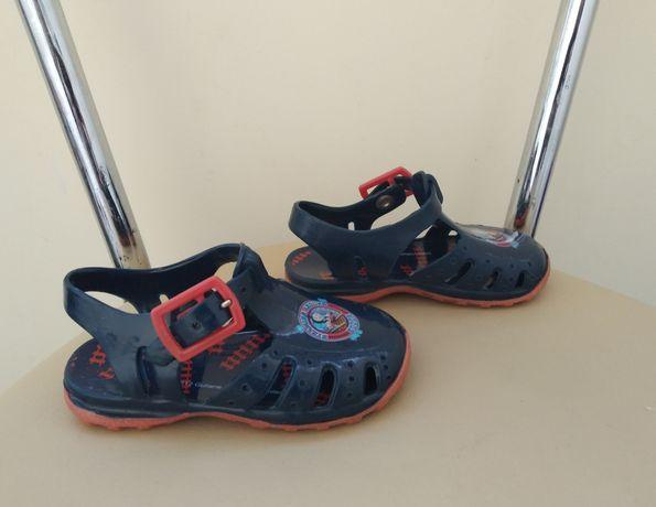 Силиконовые сандали босоножки мыльнички (Германия), 19,5 р., 12,1 см