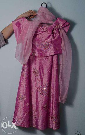 Платье костюм праздничное, выпускное на 8-12 лет