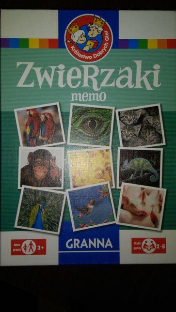 Gra Zwierzaki memo Granna 38 par tania wysyłka 1 zł!