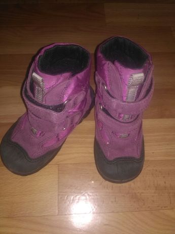 Зимние сапоги термо ботинки Ecco  23