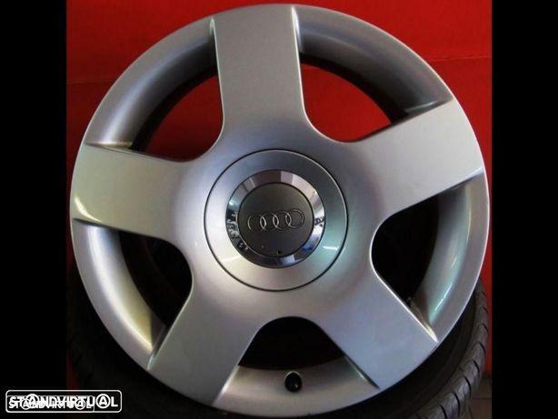 Jantes 16 Originais A4 Sport 2003 usadas como novas com pneus usados