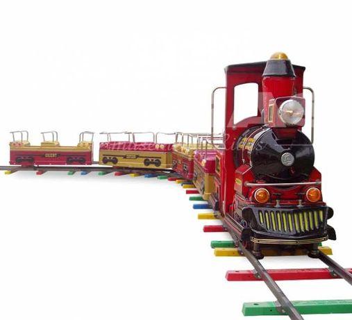 Mini-Comboio Eléctrico para 12 Crianças