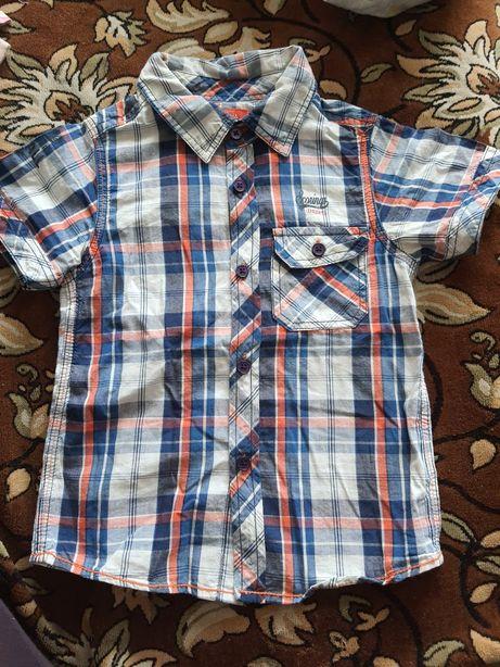 Рубашка, футболки на мальчика 3-4 года