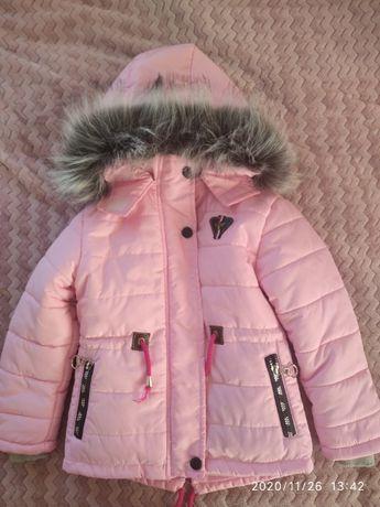 Куртка зимова на дівчинку