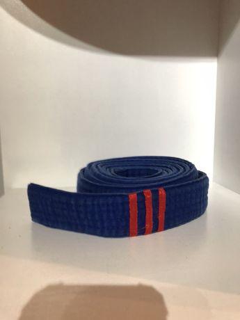 Pas karate niebieski judo 280 cm