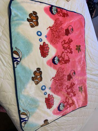 Детское теплое одеяло,плед новорожденному младенцу 100х133