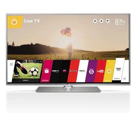 Smart TV 3D LG 55LB650V