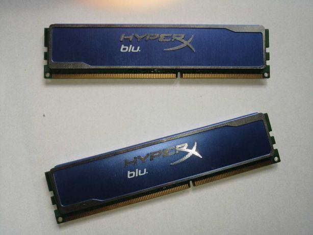 Kingston HYPERX BLU 2X4gb PC3-1600 CL9
