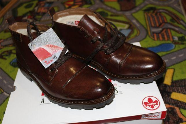 Ботинки-туфли зимние мужские Rieker 43 разм.