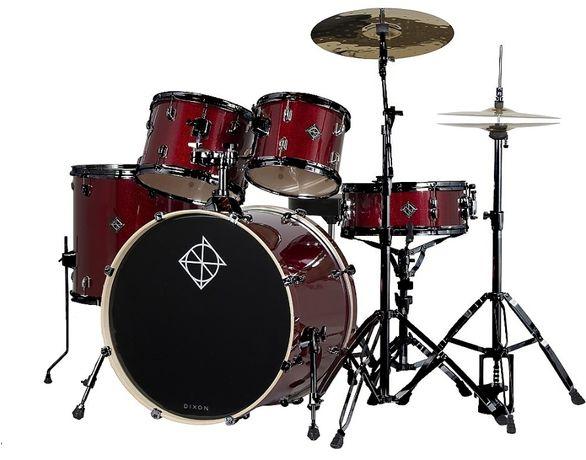 Dixon Spark PODSP 522 BWR perkusja+talerze+stołek