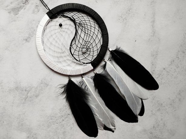 Ловец снов Инь Ян. Декор для дома. Подарок. Амулет. Ловець снів
