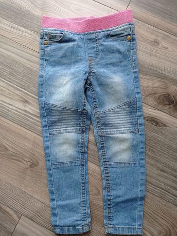 Spodnie dziewczęce rozm 98