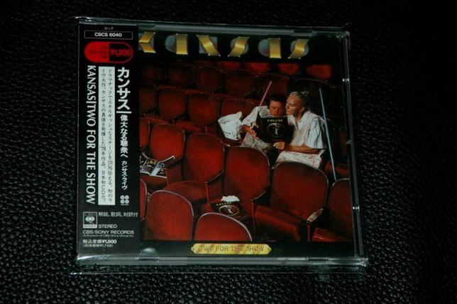 KANSAS - Two For The Show. 1990 Krishner/CBS. Japan + OBI.