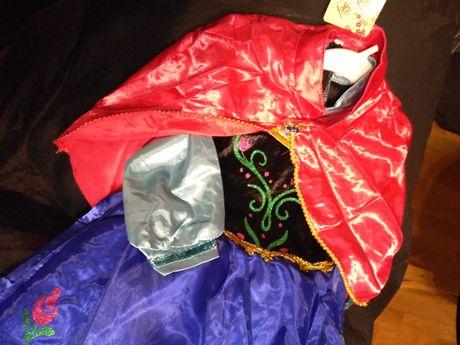 Oferta Envio | Vestido Novo Frozen Fato Princesa Anna Carnaval T4