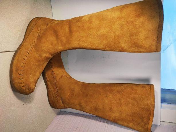 Сапоги женские демисезонные merrell 38 р 24 см оригинал замша