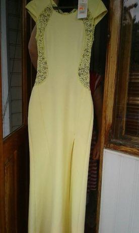 Плаття Рибка Сукня Лимонного кольору