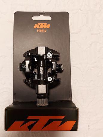 Pedais KTM Klick preto alumínio