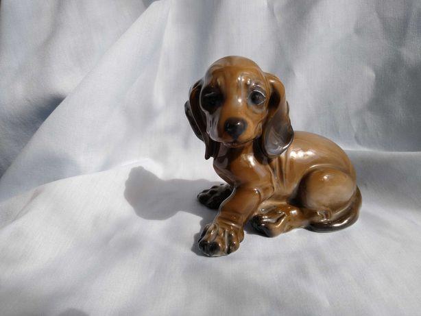 Figurka porcelanowa pies szczeniak Rosenthal