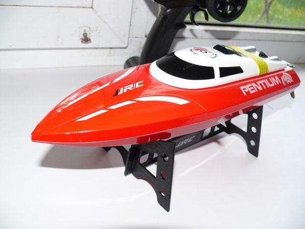 Катер JJRC-S1 радиоуправляемый, красный, длина 37 см, 25 км/ч скорость
