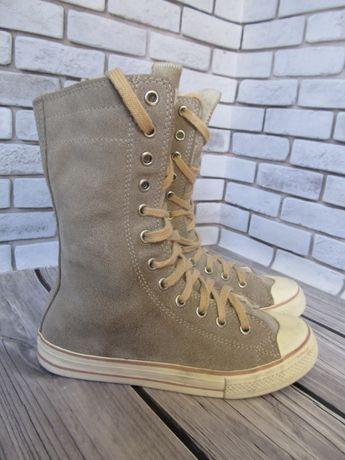 Замшевые ботинки Next, размер 33